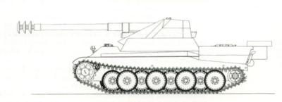 15cm sFH 18 mit Panther Bauteilen April 16th, 1943