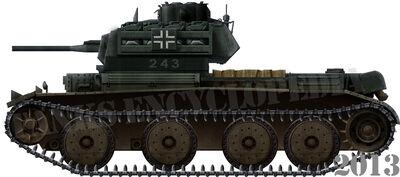 Kreuzer Panzerkampfwagen Mk.IV 744(e)