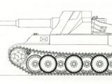 12,8cm Skorpion mit Panther Bauteilen