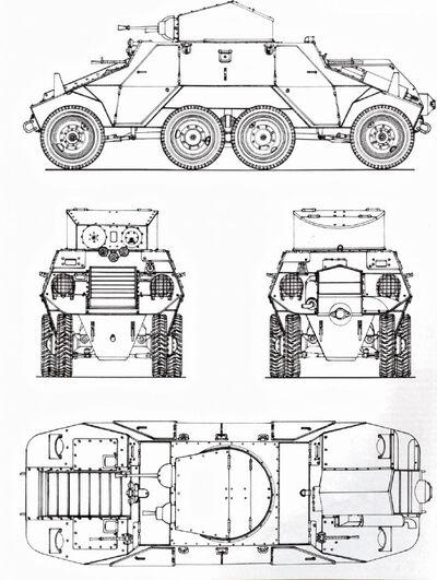 Austro-Daimler ADGZ/Steyr M35 Mittlere Panzerwagen