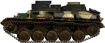 Panzer T-70 743(r) Supply Vehicle