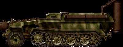 Sd.Kfz.251-16 Ausf.C