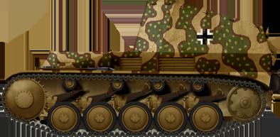 Munitionspanzer auf Fahrgestell Wespe