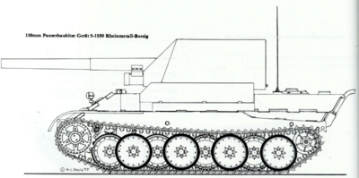 15cm sFH 43 (Sfl) Rheinmetall