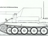 15cm sFH 43 Selbstfahrlafette Rheinmetall-Borsig (Gerät 5-1530)