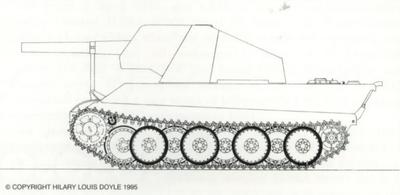 Mittelerer Waffenträger sFH 18 auf Panther V2, September 21st, 1944