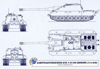 -fake- Jagdpanzer E-100 Krokodil 17cm