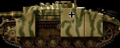 StuH 42 Ausf.G with Schürzen