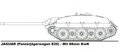 -fake- E-25 88mm