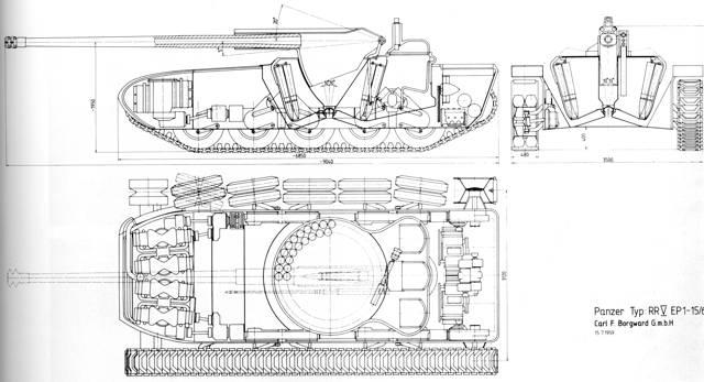 Leopard Prototype C (Borgward) | Panzerpedia Wiki | FANDOM