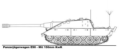 -fake- Jagdpanzer E-90 Type 1