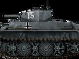Panzerkampfwagen I Ausf.C (VK6.01)