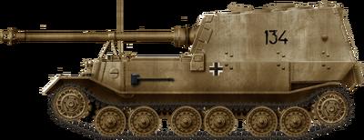 Panzerjager Tiger (P) Ferdinand Early