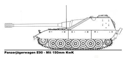 -fake- Jagdpanzer E-90 Type 2