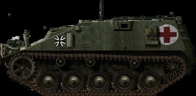Sänitatspanzer Kurz 2-2