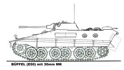 -fake- Schützenpanzerwagen E-50 Buffel