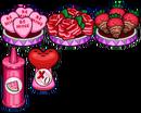 Valentine topping