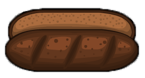 Pumpernickel bun