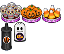 Halloween topping