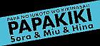File:Papakiki-wordmark-2-trans.png