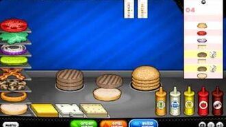 Papa's Burgeria HD for Android - All Ingredients Unlocked (Rank 14)