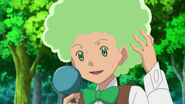 Cilan with an Afro