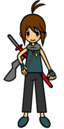 Sasuke sword man