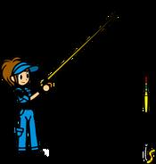 Ann Glerr fishing