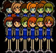 School Pep squad