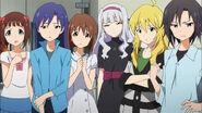The idolmster-09-makoto-miki-takane-chihaya-haruka-yukiho-everyone-angry