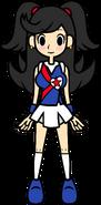 Cheer leader Reika