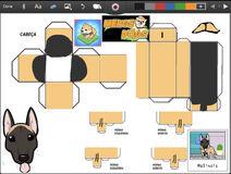 Merge Dogs papercraft Malinois