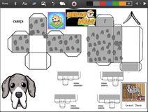 Merge Dogs papercraft Great Dane