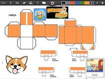 Merge Dogs papercraft Corgi