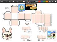 Merge Dogs papercraft French Bulldog