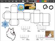 Merge Dogs papercraft Candidan Eskimo Dog (winter update)