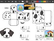 Merge Dogs papercraft Dalmatian