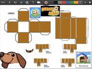Merge Dogs papercraft Dachshund