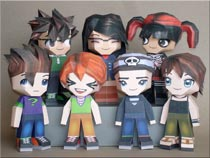 Paperpokes Team Papercraft