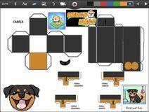 Merge Dogs papercraft Rottweiler