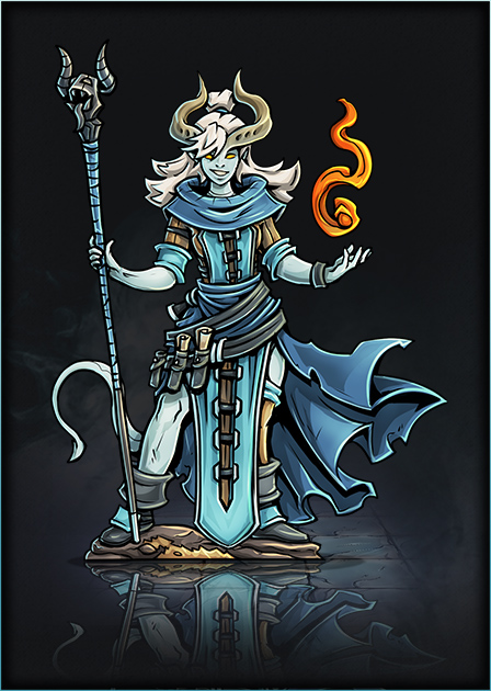 Tiefling Warlock 03 Mini Printable Heroes Patreon Papercraft Gaming Wiki Fandom Originally introduced in the planescape campaign setting in the second edition of. tiefling warlock 03 mini printable