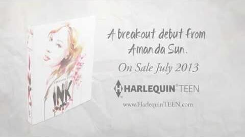 INK debut novel from Amanda Sun(Book Trailer)