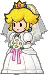 Princess Peach Wedding Dress
