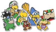 PMOK Bowser and Minions