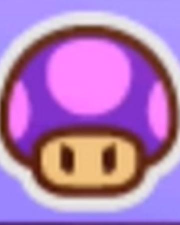 Poison Mushroom Sticker Paper Mario Wiki Fandom