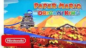 Learn all about the World of Paper Mario-Origami King Promotional Trailer