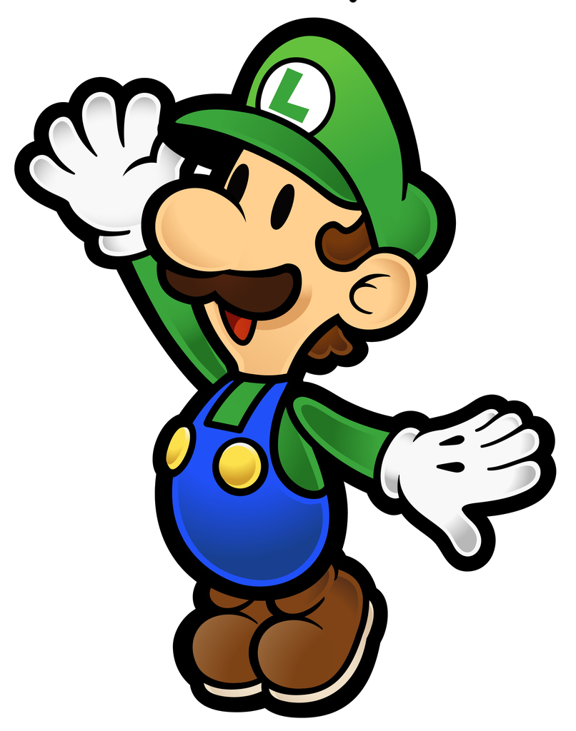 paper mario sticker star coloring pages - luigi paper mario wiki fandom powered by wikia