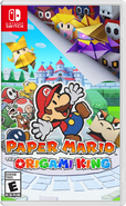 Paper Mario The Origami King Boxart