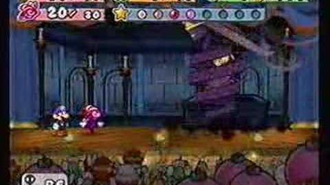 Paper Mario 2 Battle Shadow Queen Final
