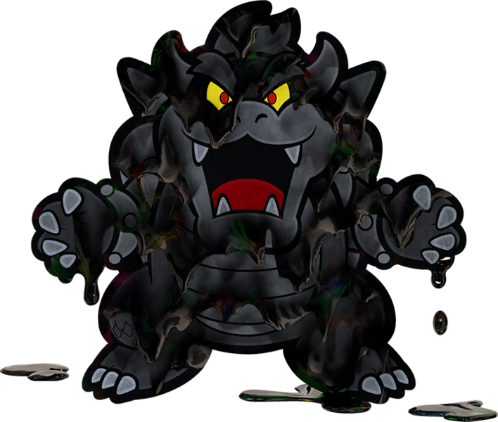 black bowser paper mario wiki fandom powered by wikia. Black Bedroom Furniture Sets. Home Design Ideas